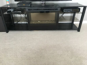 Fireplace/ tv stand