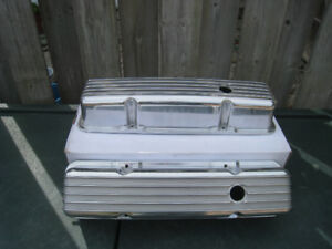 Chevy Finned Aluminum Valve Covers