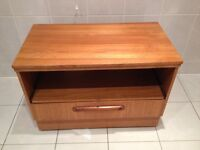 Wooden tv unit stand cabinet -- can deliver