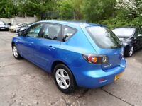 Mazda 3 1.6 TS (12 MONTH MOT + CLEAN CAR) (blue) 2006