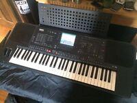 Yamaha PSR-6000 Electronic keyboard GWO With manual and discs