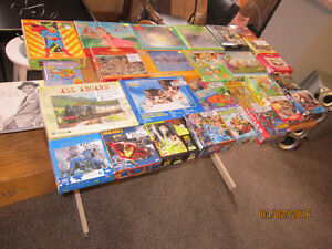 Lots Of Puzzles For Sale!!