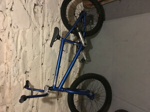 Looking to trade two month old bmx parts for other parts