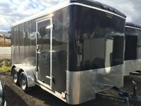 CARGO TRAILERS 7X14 ENCLOSED TRAILER