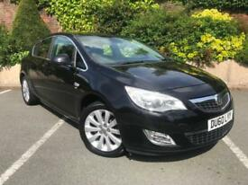 2010 VAUXHALL ASTRA ELITE 1.4i TURBO 16v ( 140ps ) TOP SPEC RARE MODEL LOW MILES