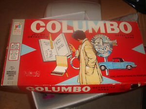 Columbo board game vintage complete 1973