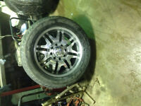 305/50R20 tires and rims