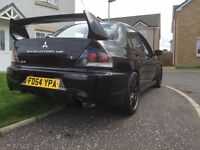 Mitsubishi Evo 8 535 Bhp Massive spec not Subaru / skyline/ rs