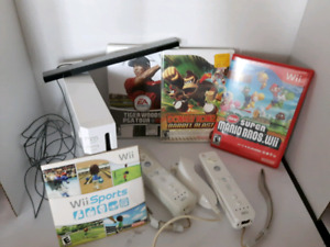 Nintendo Donkey Kong, Super Mario Brothers and Wii System