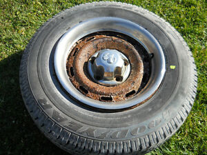 P225/75R16 Goodyear Wrangler M&S tire Peterborough Peterborough Area image 1