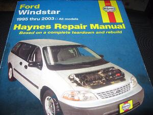 Ford Windstar 1995-2003 Haynes Repair Manual Kingston Kingston Area image 2