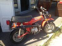 mini trail 70 cc date 1980 -----5800km seulement