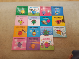 MR MEN & LITTLE MISS (SPARKLY)15 BOOK BOX COLLECTION
