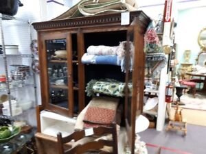 antique cabinet or hutch top