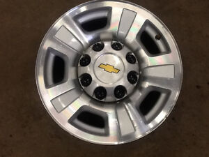 Chevy 8 bolt factory aluminum rims