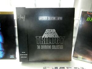 Star Wars Trilogy Laser discs, LD Player, and other Laser discs