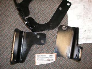 Fifth Wheel Bracket Kit, 2009-2012 Dodge RAM 1500, except models