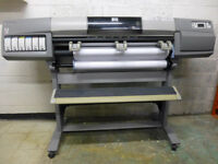 Large format printer HP 5000 DesignJet for sale. 60'' wide.-