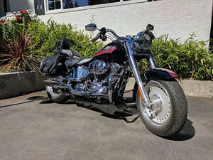 2007 Harley Davidson Fatboy 96 ci 6 speed Custom