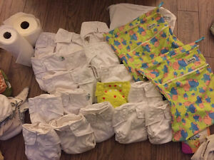 19 glow bug one size diapers