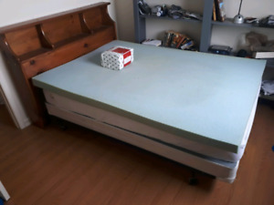 Complete double bed set