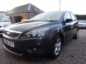 FORD FOCUS 1.6 zetec 2008 Petrol Manual in Grey