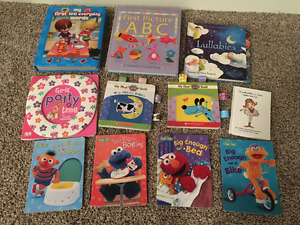 Toddler toys, puzzles and books