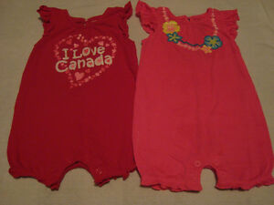 6-12 month BABY GIRL clothing - $1.00/item or $5 for all
