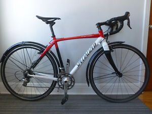 52cm specialized tri cross aluminum carbon shimano 105