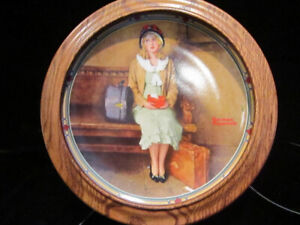 "Collector Plate ""A YOUNG GIRLS DREAM"" by Normal Rockwell"