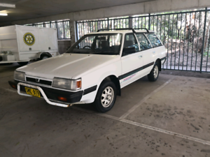 Subaru DL 4wd, long rego.