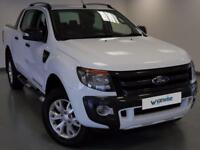 2015 Ford Ranger Pick Up Double Cab Wildtrak 3.2 TDCi 4WD Diesel white Manual
