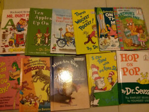 Dr. Suess and Richard Scarry lot of 11 books$20