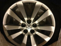 16'' Toyota corolla sport alloy rim with good year all saeson ti