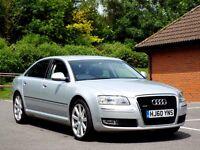 Audi A8 3.0 TDI SE Quattro 4dr (LWB) - 2010 (60 reg)
