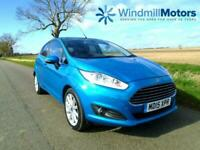 FORD FIESTA 1.0 ECOBOOST TITANIUM (s/s) 5DR - LOW MILES - ZERO TAX - F.FORD.S.H