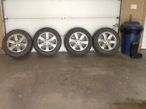 2006 Nissan Murano factory rims with winter tires