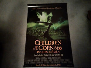 Movie Poster - Children of the Corn 666 Isaac Returns