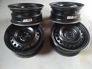 Set of 4 Steel Rims for Ford