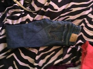Hollister jeans and Amethyst jeans