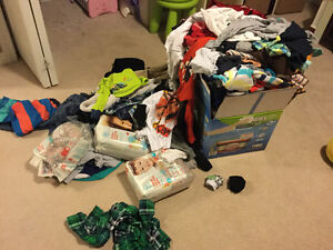 Clothes - boy - toddler size 2T - everything all seasons