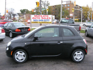 **2012 Fiat 500c** 2 door Auto,   Certified & E-tested