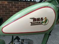 BSA Bantam D1 1953 restoration