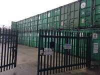 Self storage 20ft containers £30pw