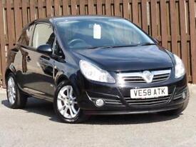 Vauxhall Corsa 1.4i 16v SXi Ac 3dr PETROL MANUAL 2009/58
