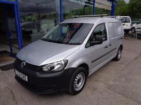 2011 VOLKSWAGEN CADDY MAXI C20 TDI BLUEMOTION TECHNOLOGY LWB - 1 OWNER CAR DERIV