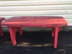 Solid wooden benches $50 each