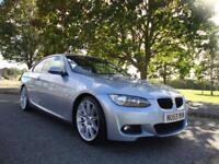BMW 320 2.0i M Sport Coupe, 09 59, Only 31k FSH Bluewater Met with Full Leather