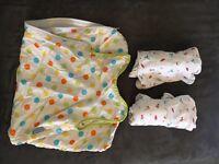 Groswaddle newborn swaddle and 1 tog grobag