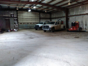 Industrial Shop and office for lease